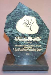Spirit of the Land Plaque