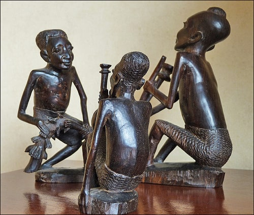 Instrument Players made of African blackwood